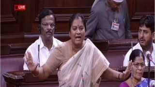 Sasikala Pushpa expelled from AIADMK after raising slapgate issue in Rajya Sabha
