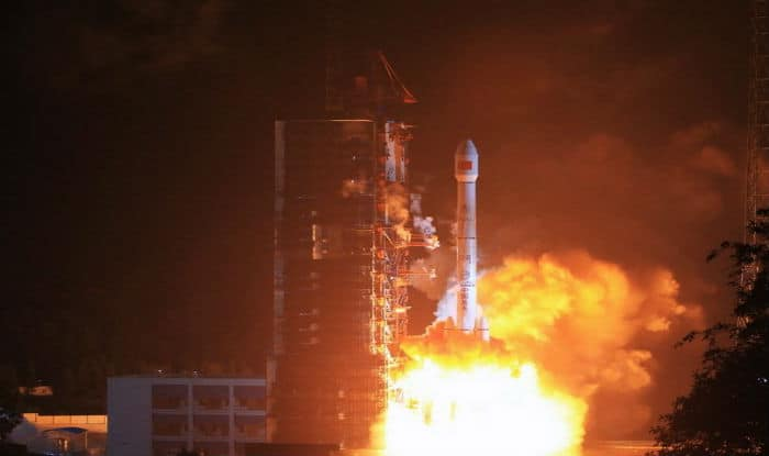 China says new satellite will help safeguard interests at sea