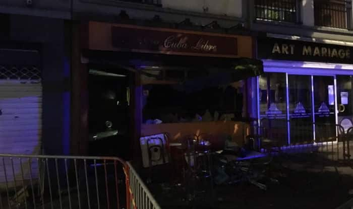 Fire at bar in Rouen ,northern France kills 13 and 6 injured