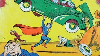 Rare Superman comic book auctioned for nearly USD 1 million
