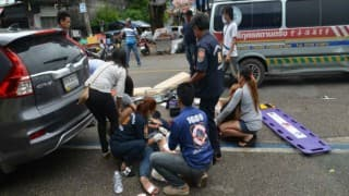 4 killed, 34 injured as blasts rock Thailand resort cities
