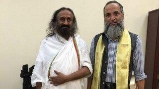 अयोध्या विवाद मामला: श्री श्री रविशंकर की पहल को प्रमुख पक्षकार हाजी महबूब अहमद का समर्थन