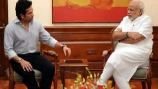 Sachin Tendulkar urges Narendra Modi to talk about Rio-bound athletes on Independence day