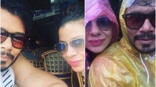 Romantic! Newly weds Sambhavna Seth and Avinash Dwivedi are holidaying in Goa