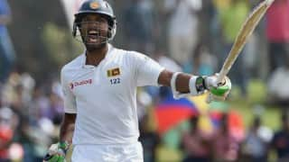 Dinesh Chandimal century drives Sri Lanka to 299-7