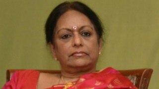 Nalini Chidambaram, wife of P Chidambaram, summoned by ED in Saradha chit fund scam