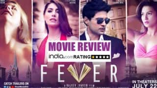 Fever Movie Review: Rajeev Khandelwal and Gauhar Khan's starrer will surely give you FEVER