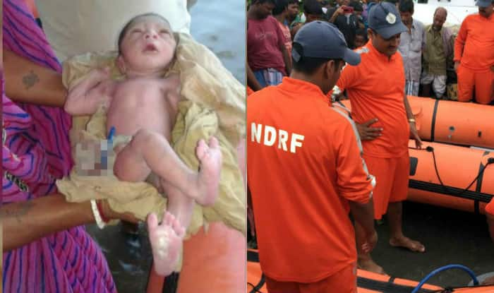 With NDRF's help, woman delivers baby on boat in flooded Bihar, newborn named 'Namami Gange'