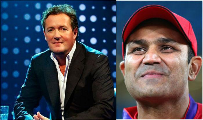 Piers Morgan targets Virendra Sehwag, but is left embarrassed again!