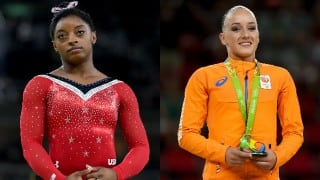 Rio Olympics 2016: Simone Biles' five gold bid ends as Sanne Wevers takes beam title