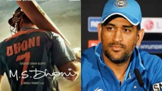 Didn't want to be made into hero: Mahendra Singh Dhoni on his biopic 'MS Dhoni'