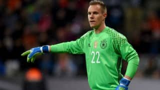 Barcelona goalkeeper Ter Stegen out for six weeks due to knee injury