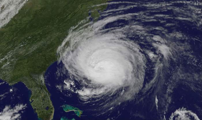 Hurricane Florence is about to make landfall in North Carolina