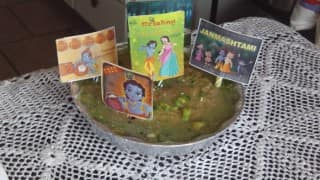 How to Make a Vrindavan Cake for Your Little Ones this Janmashtami