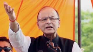 Amnesty row: Arun Jaitley accuses Congress of indulging in vote-bank politics
