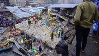 Fire triggers building collapse; 250 bikes gutted
