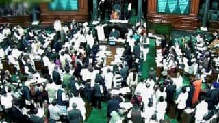 Protest over special category status to Andhra Pradesh waning in Lok Sabha