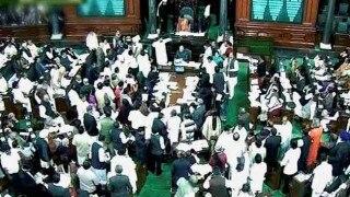 Andhra Pradesh MPs force 2 adjournments in Lok Sabha