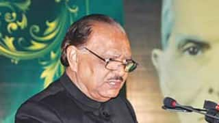Highlight Kashmir issue at every intl fora: Mamnoon Hussain to PoK president