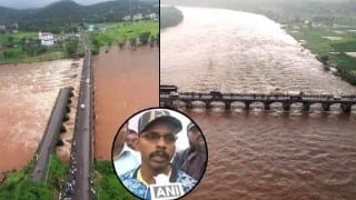 Mahad Bridge Collapse: Wreckage of 1 of the 2 missing buses located by divers