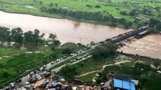 Mumbai-Goa bridge collapse: Submerged wreckage of 1 bus found near Mahad