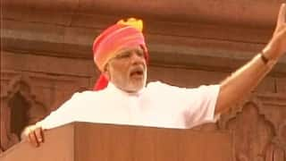 Narendra Modi announces hike in freedom fighters pensions
