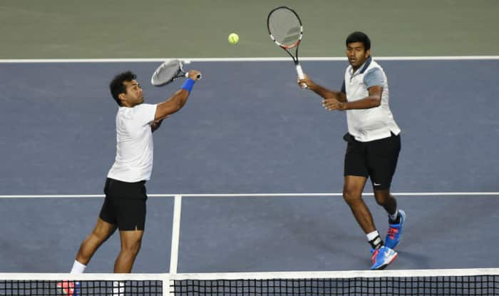 Paes, Bopanna in Davis Cup team