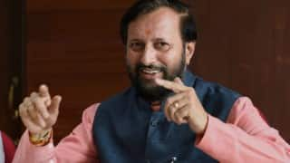 Congress remembers only Indira Gandhi family,not Sardar Vallabhai Patel or Subhash Chandra Bose, says Prakash Javadekar