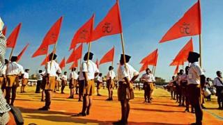 RSS' sartorial change to be on display on Vijayadashami day
