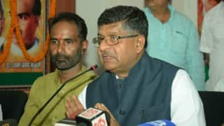 Central government wants independent judiciary: Law Minister Ravi Shankar Prasad