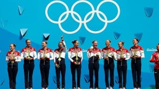 Rio Olympics 2016: Russia wins fifth straight Olympic title in synchronised swimming