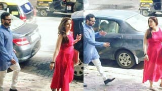 SPOTTED: Kareena Kapoor Khan with baby bump and hubby Saif Ali Khan in tow! (See pictures)
