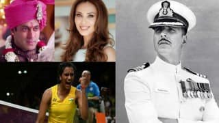 Showbiz Weekly Roundup: Salman Khan married; B'town enthralled by Rio Olympics 2016, Rustom and Beat Pe Booty Challenge!