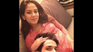 CUTE: Shahid Kapoor shows off wife Mira Rajput's baby bump! See picture he posted