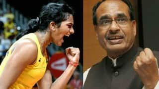 Rio Olympics 2016: Madhya Pradesh Chief Minister announces Rs 50 lakh prize money for PV Sindhu