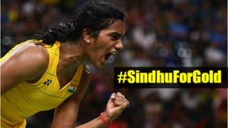 #SindhuForGold: Twitterati cheer for PV Sindhu ahead of her Olympics gold medal match against Carolina Marin