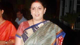 Smriti Irani to meet soldiers at Siachen on Raksha Bandhan