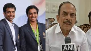 Twitterati criticize Telangana deputy CM for his suggestion of 'proper coach' for PV Sindhu