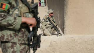 United States claims troops 'dumped' gear in Nangahar province during ISIS attack in Afghanistan