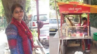 Gurgaon woman lives in a 3 crore flat but sells chhole kulche by the roadside!
