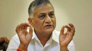 MoS V K Singh in Saudi Arabia to help jobless Indians