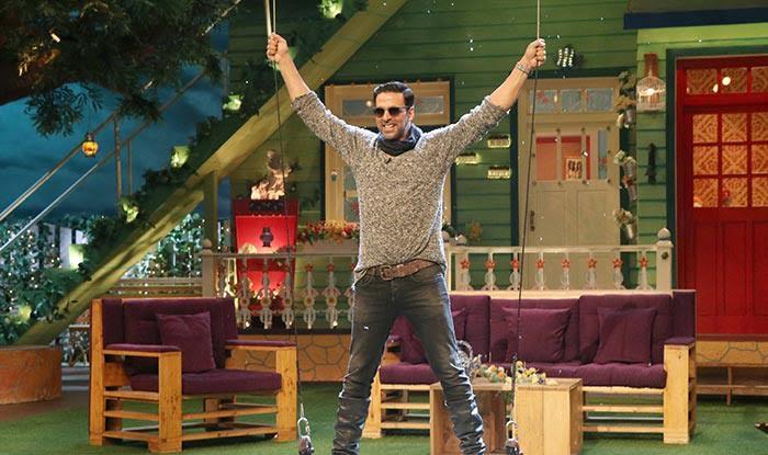 The Kapil Sharma show: Here's how Rustom star Akshay Kumar made his GRAND entry!