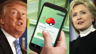 Pokemon Go a campaign weapon for presidential candidates
