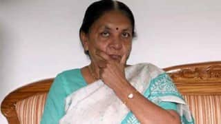 Gujarat Chief Minister Anandiben Patel offers to resign