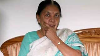 Gujarat Assembly Elections 2017: Anandiben Patel Writes To Amit Shah, Refuses to Contest