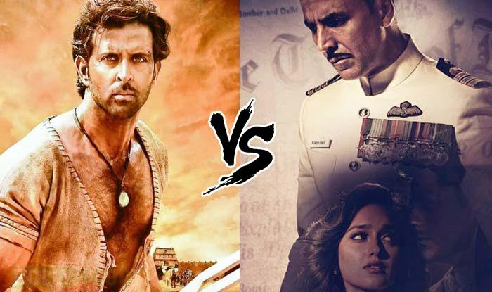 Akshay Kumar's Rustom or Hrithik Roshan's Mohenjo Daro: Which movie will be an interesting watch?