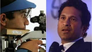 'Abhinav Bindra, we are proud of you,' Sachin Tendulkar gives special farewell to Olympics star shooter