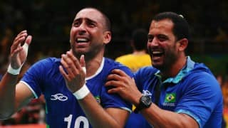 Rio Olympics 2016: Brazil captures first gold medal in men's volleyball tournament on Day 16