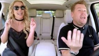 WATCH VIDEO: Britney Spear's Carpool Karaoke with James Corden loaded with d**k jokes