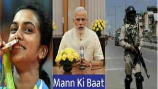 Mann Ki Baat: From Rio victory to loss of lives in Kashmir, Narendra Modi speaks in a formal pattern